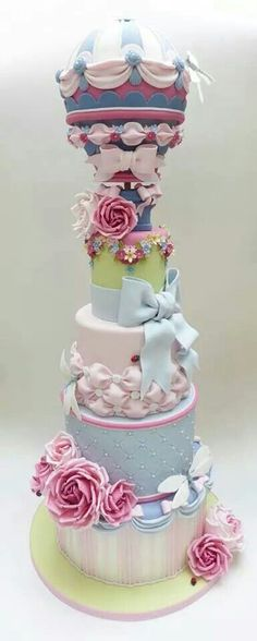 ...this could easily become two  cakes ... people are just too clever