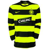 Scottish teams Nike 09-10 Celtic L/S Away shirt Official2009-10CelticLongSleeveAwayfootballshirt. AuthenticLong SleeveNike football shirt ofCeltic football club available in sizes S M L XL XXL XXXL. To be worn in the 2009-10 Scottish Prem http://www.comparestoreprices.co.uk/football-shirts/scottish-teams-nike-09-10-celtic-l-s-away-shirt.asp