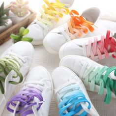 Mori Clothing Flats on Mori Girl の森ガール.Emo Gradient Shoelace Flats Korean White Canvas Shoes Mg372 always wearable, forever pairable; comfy and charm, effortlessly yet attractive.Absolutely gorgeous stylish cool, and fashionable.Mori style,full of young vitality and glamour.