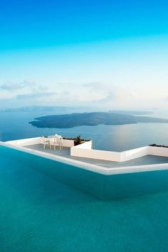 Greece The infinity pool at the Grace Santorini, which overlooks the Greek island's famed caldera view.The infinity pool at the Grace Santorini, which overlooks the Greek island's famed caldera view. Vacation Places, Vacation Destinations, Dream Vacations, Vacation Spots, Holiday Destinations, Greece Pictures, Greece Holiday, Beautiful Places To Travel, Travel Aesthetic