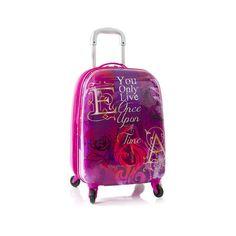 "Heys Luggage Ever After High Carry On Hardcase Girls 20"" Pink Spinner Suitcase  #Heys"