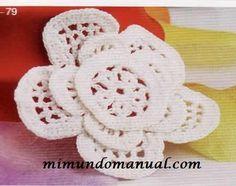Flores tejidas con patrones 2011 ~ Mimundomanual