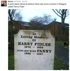 On old-timey names: | The 20 Funniest Scottish Tweets Of 2016