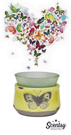 Flutter Scentsy warmer!  www.dawnwestley.scentsy.us