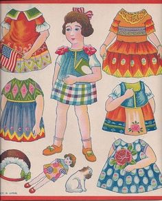 US $15.00 New in Dolls & Bears, Paper Dolls, Vintage