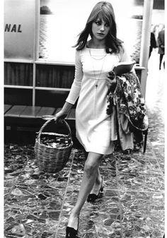 Jane Birkin Moda anos 60   Conheça os 30 ícones fashion da década em fotos originais