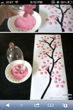 DIY bedroom art japenese reuse 2 liter bottle for art