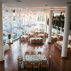 Washington DC waterfront wedding reception venue idea - Sequioa (Meredith Hanafi Photography)