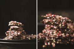 pomegranate + pistachio bark