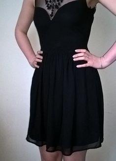 Kup mój przedmiot na #vintedpl http://www.vinted.pl/damska-odziez/krotkie-sukienki/13319520-czarna-sukienka-zara-rozmiar-s