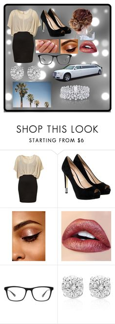 """Movie Premier"" by persassy-4-life ❤ liked on Polyvore featuring GUESS, Joseph Marc, Effy Jewelry and Graff"