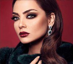 Maquillage libanais sur yeux clairs