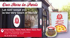 Eat Gluten Free, beautiful shop in the Marais for gluten free gnocchetti, tiramisu, and more, 5 rue caron, paris 75004