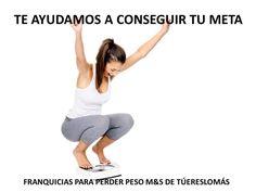 FRANQUICIAS PARA ADELGAZAR, SANA Y SALUDABLEMENTE. M&S DE TÚERESLOMÁS.