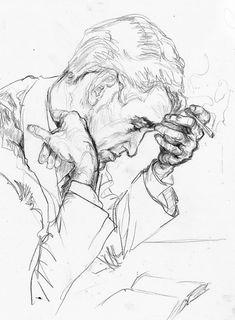 mydarkenedeyes: Paula K - # . - mydarkenedeyes: Paula K - # . Portrait Au Crayon, Portrait Art, Drawing Portraits, Figure Sketching, Figure Drawing, Life Drawing, Painting & Drawing, Smoke Drawing, Drawing Tips