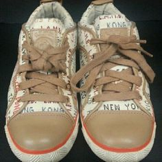 L.A.M.B. Sneakers Are you lamb enough sneakers. pre- owned. L.A.M.B. Shoes Sneakers