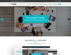 """Check out new work on my @Behance portfolio: """"Soar Corporate Multipurpose HTML Template"""" http://be.net/gallery/46409555/Soar-Corporate-Multipurpose-HTML-Template"""