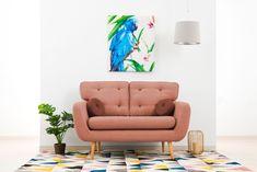Canapea Fixa 2 locuri Malva Salmon II #homedecor #interiordesign #inspiration #interiorhome #home #Livingroomdecor Living, Malva, Interior, Design, Home Decor, Decoration Home, Indoor, Room Decor