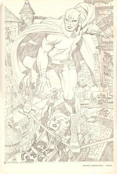 Jack Kirby Pencils