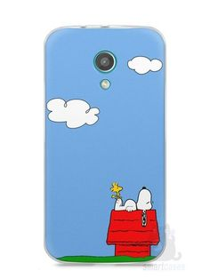 Capa Moto G2 Snoopy #3