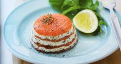 Recette saumon fumé et fromage frais