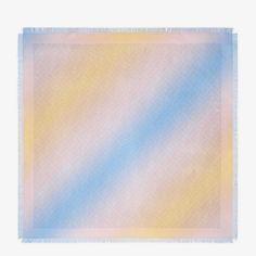 Multicolor silk foulard - FOULARD FF | Fendi