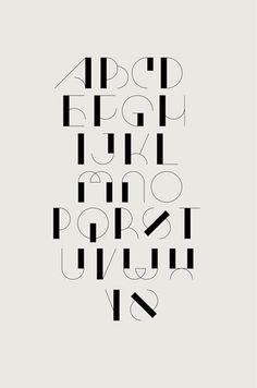 Typography in Communication Design-advertising Hand Lettering Alphabet, Calligraphy Letters, Typography Letters, Typography Poster, Number Typography, Art Deco Typography, Alphabet Fonts, Typography Layout, Fonte Alphabet