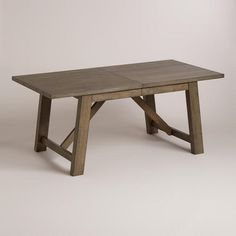 One of my favorite discoveries at WorldMarket.com: Wood Farmhouse Extension Table