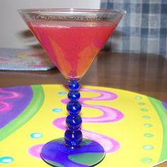 Cherry Breeze Martini...OMG, these are super yummy and super dangerous.  Perfect for girls night in!