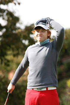 playing golf ! <3