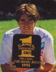 Championnat de Supercross US 1991 : la carrière de Jean-Michel Bayle