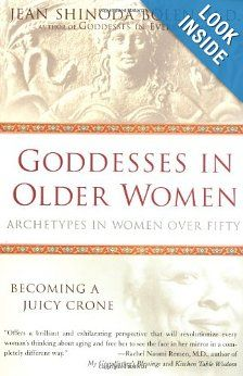 "Jean Shinoda Bolen -- ""Goddesses in Older Women: Archetypes in Women over Fifty:""   [More like her at https://www.pinterest.com/yrauntruth/grow-up-age-croning/ ]"
