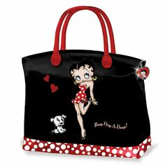 7f4fbaad59 Betty Boop Handbag - The handbag features a fashionable custom design you  won t find