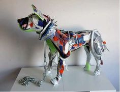 Nike Air Max 90 Pitpulls by Vinti Andrews #pets