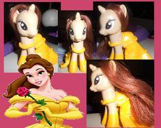 My Little Pony Custom: Belle by ~youngsango13 on deviantART