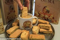 South Africa's beloved Ouma Rusks are still made in a small Eastern Cape town. Cake Layers, Cape Town, Crepes, South Africa, African, Community, Foods, Coffee, Reading