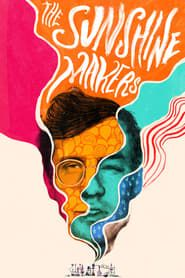 The Sunshine Makers - The story of Nicholas Sand and Tim Scully, the unlikely duo at the heart of American drug counter-culture. - Director: Cosmo Feilding-Mellen - The poster is colourful and has our protagonists sharing a head. Music Poster, Flyer Poster, Graphic Design Posters, Graphic Design Illustration, Graphic Art, Poster Designs, Watercolor World Map, Graphisches Design, Design Ideas