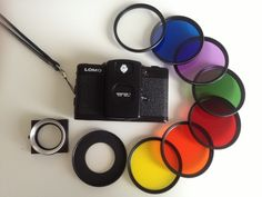 The splitzer is the perfect device to fix things in front of your LC-A+ lens. Simply take out the plastic discs and glue an empty 37mm filter ring (empty as in take out whatever glass it is holding) in its place. Voila, you have an instant 37mm thread without hurting on permanently scarring your camera
