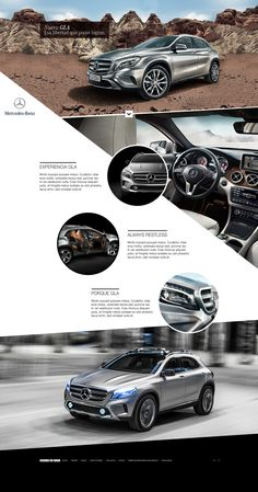 Mercedes Benz GLA on Behance