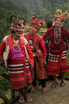 Grandmas from Luzon, Philippines #Philippines #Luzon #Batad