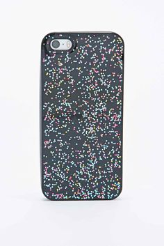 Discoglitter iPhone 5 Case in Black