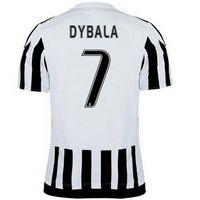 Juventus 2015-16 Season #7 DYBALA Home Jersey