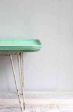 Vintage Melamine Cafeteria Tray - Extra Large. $20.00, via Etsy.