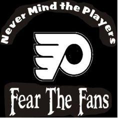 NEW Custom Screen Printed T-Shirt Philadelp;hia Flyers Never Mind The Players F
