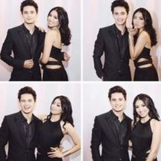 Photo booth look #2: Who says you can't have fun in a photo booth dressed in formal clothes? 💃🏻🕺🏻#jamesreid #nadinelustre #photogeniccouple #jadine #Jadine💜 #teamreal💯 ctto