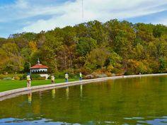 Mirror Lake in Eden Park