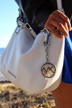 White Michael Kors bag