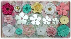Paper Flowers Tutorial using Aliexpress dies - YouTube