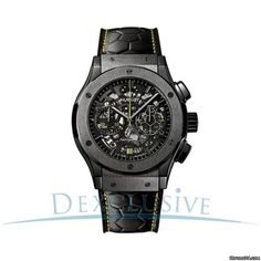 Hublot Classic Fusion Pele Men's Chronograph Watch Limited Edition 500 pieces- 525.CM.0179.VR.PE