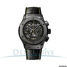 Hublot Classic Fusion Pele Men's Chronograph Watch Limited Edition 500 pieces- 525.CM.0179.VR.PE
